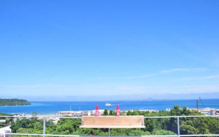 海の色が夏の色です